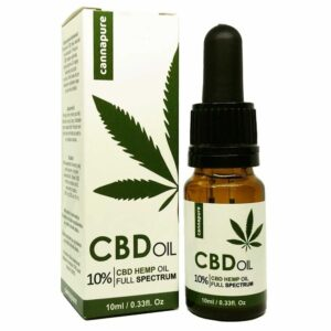CBD olej cannapure Full Spectrum 10
