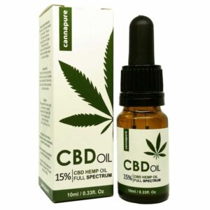 CBD olej cannapure Full Spectrum 15