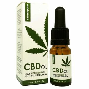 CBD olej cannapure Full Spectrum 5